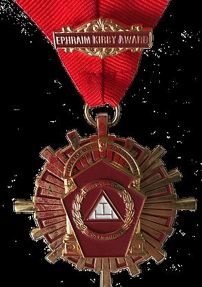 ephraim kirby award